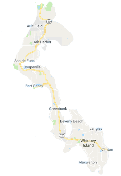 Whidbey basic map